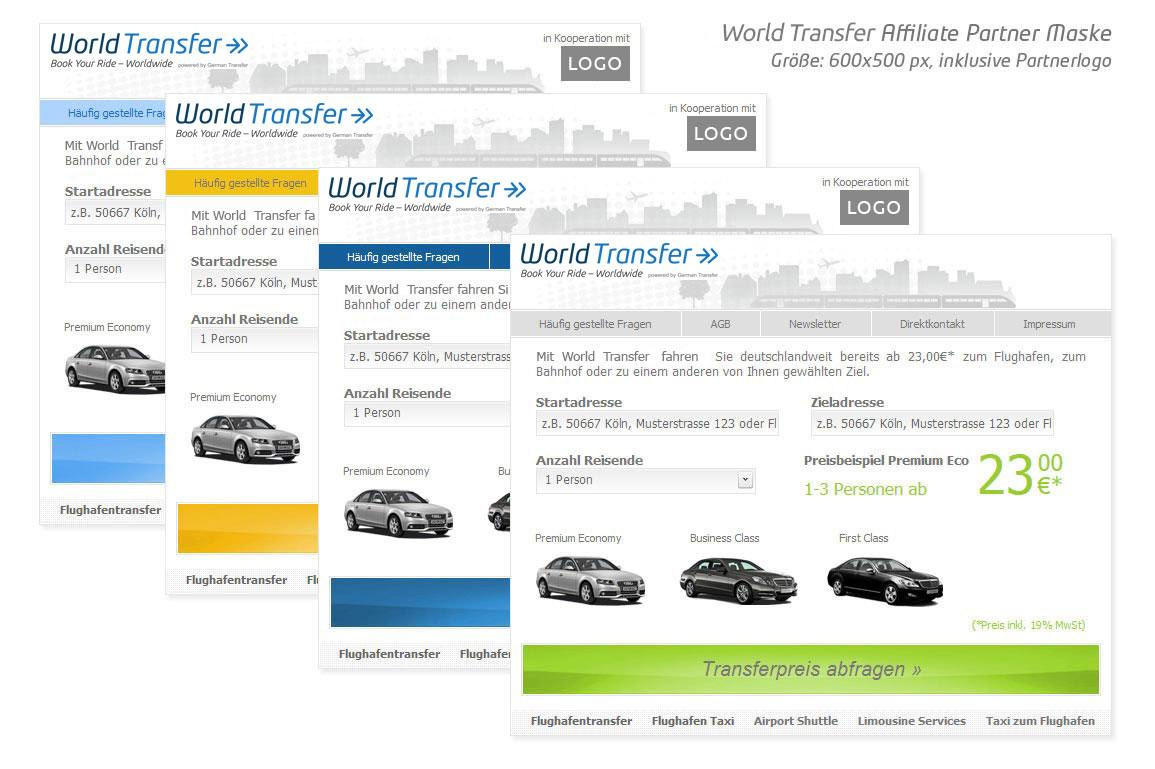 transfer auf deutsch